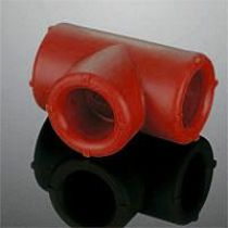 Aquatherm 4113110  red pipe (Firestop) - Т-образная деталь / B1 25 мм
