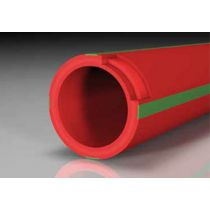 Aquatherm 4170718 Труба aqt red pipe (Firestop)  SDR 7.4 FS / B1  63х8.6 мм